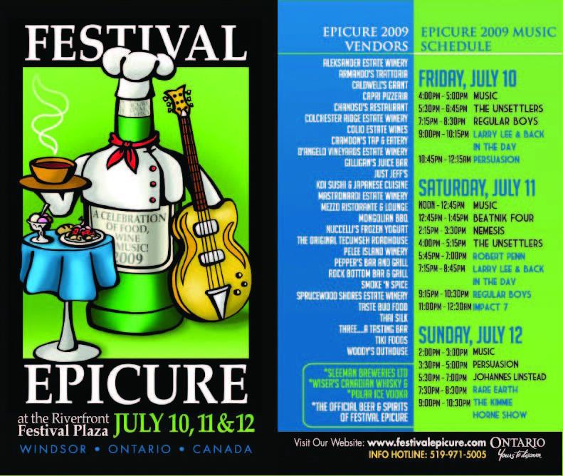 Festival Epicure 2009