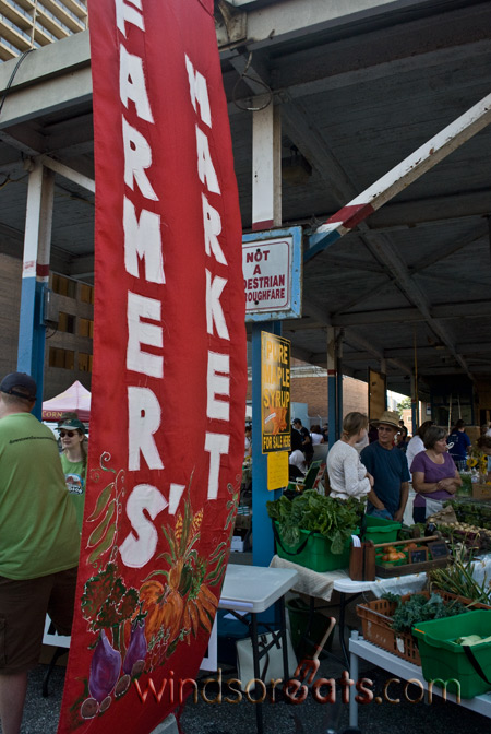 The Downtown Windsor Farmers Market has been a success story