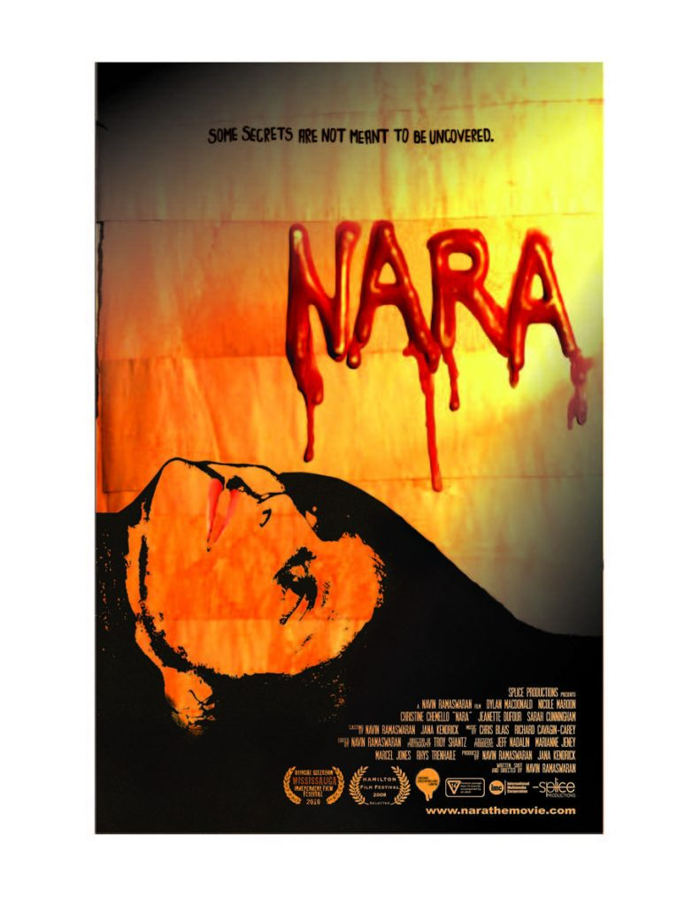 The film NARA was filmed completely in Windsor-Essex.