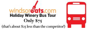 Take the Wine Express on November 27, 2010