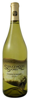Sprucewood Shores Estate Winery, 2009 Chardonnay