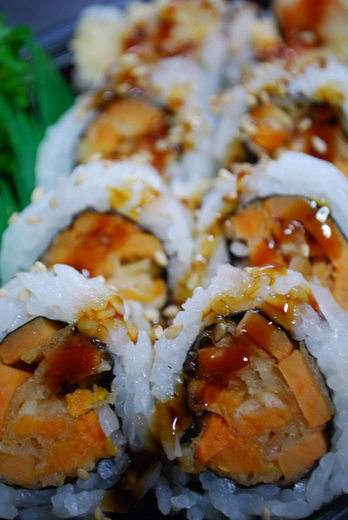 Tempura Vege Roll at California Sushi