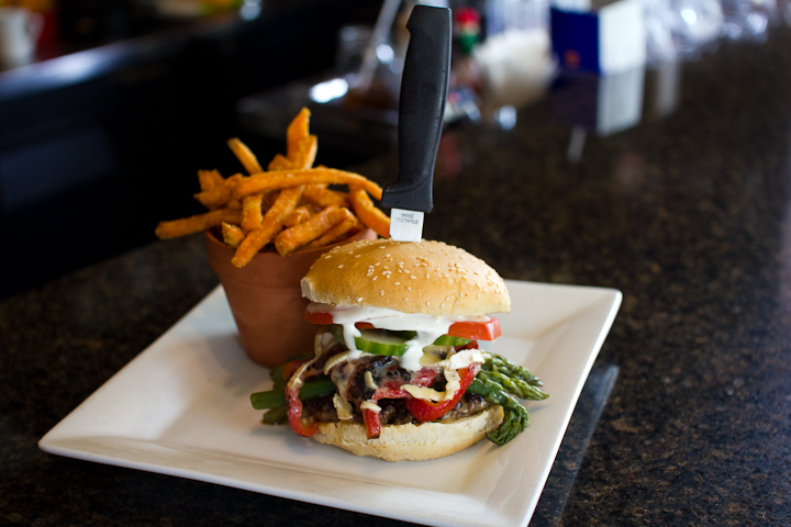 'The County Road 20' feature burger at Jack's Gastropub. Available until May 29, 2011 at midnight.