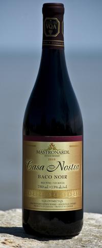 2010 Mastronardi Baco Noir (Photo provided by MEW courtesy of www.essexwinereview.com)