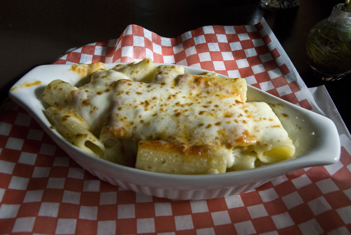Baked Rigatoni at Mettawas Station for the Winter Bites Culinary Week
