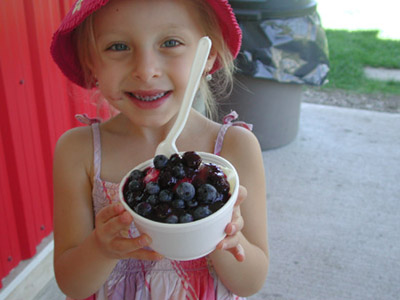 Klassen Blueberries is a family destination