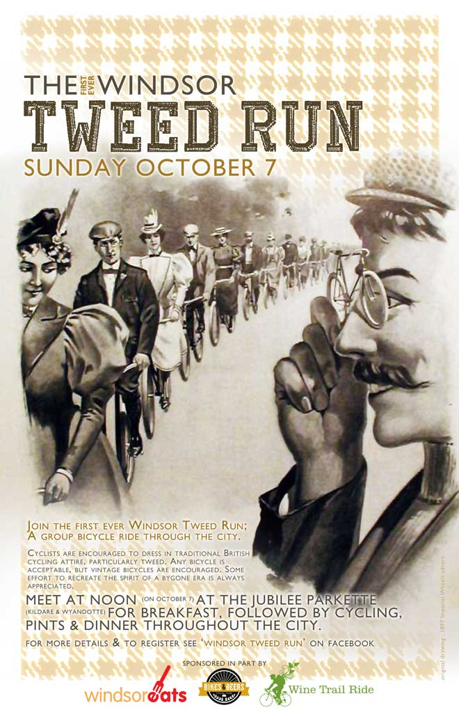 Windsor's Inaugural Tweed Run
