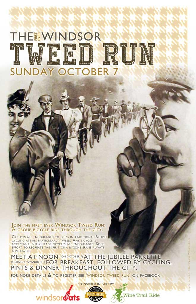 Windsor's Inaugural Tweed Run