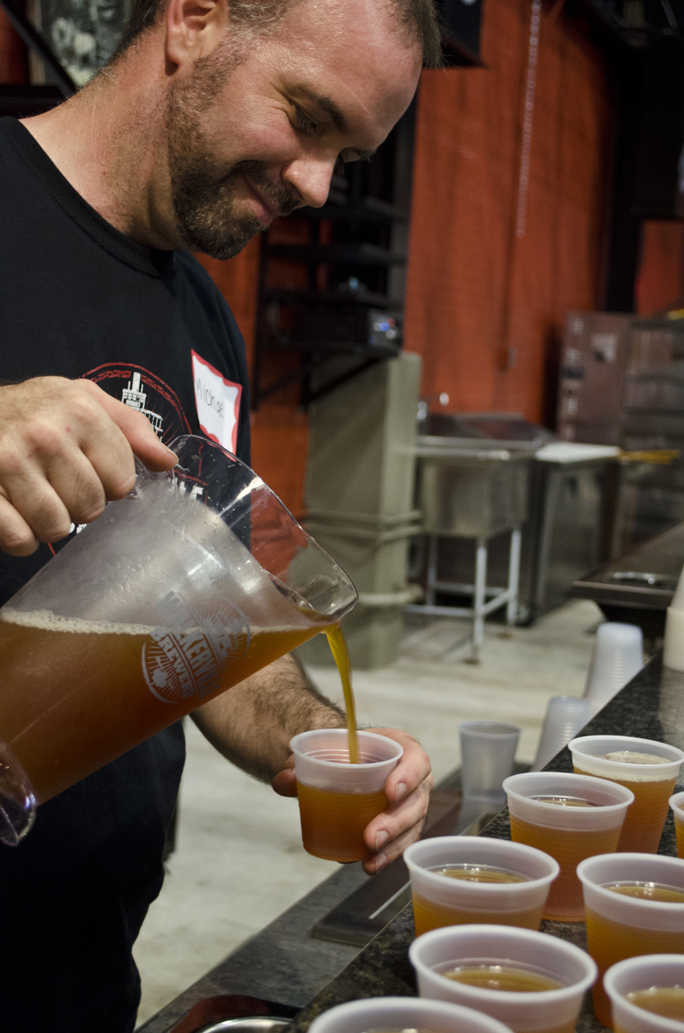 A look inside the Walkerville Brewery during their 'invite only' taste test.