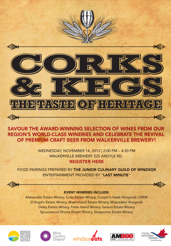 Corks & Kegs Tasting Event for industry