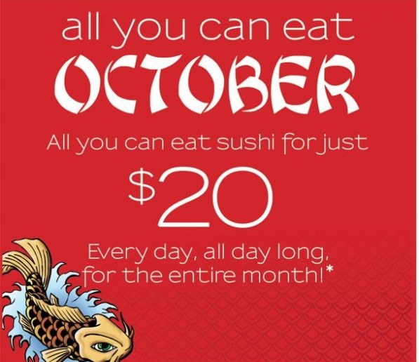 All-You-Can-Eat at Koi Sushi