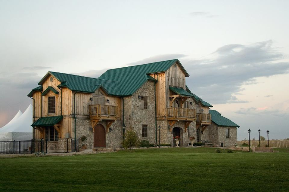 Sprucewood Shores Estate Winery. Photo courtesy of Sprucewood's facebook fan page