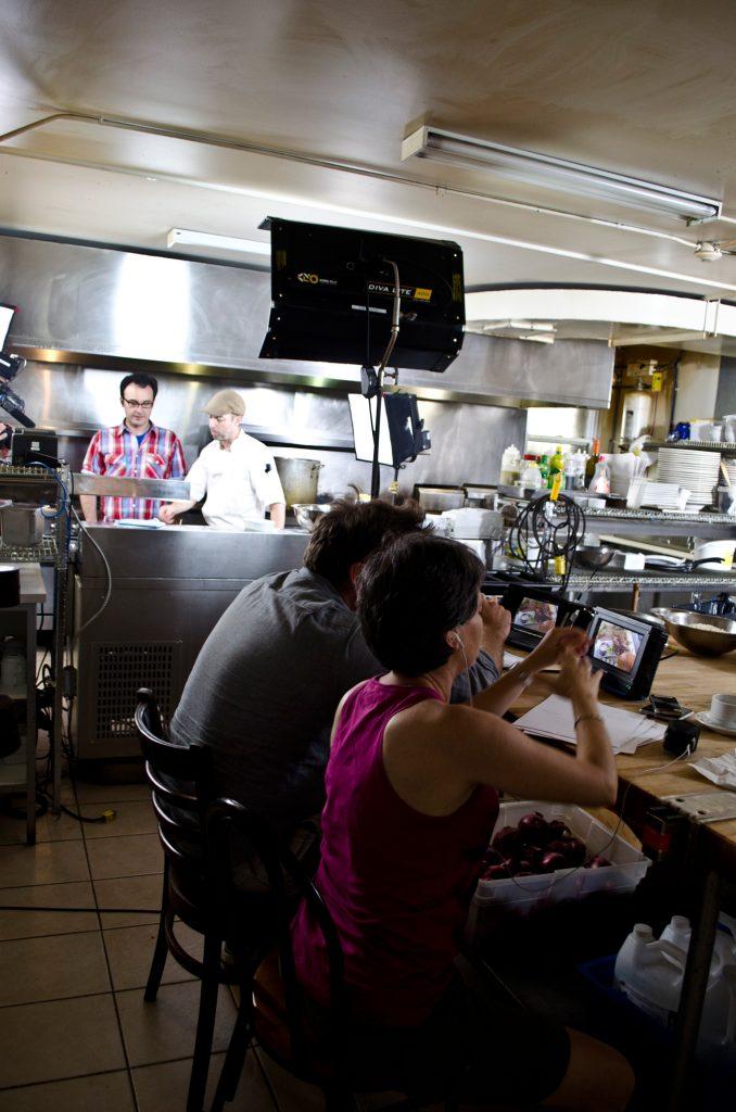 You Gotta Eat Here films inside of Motor Burger