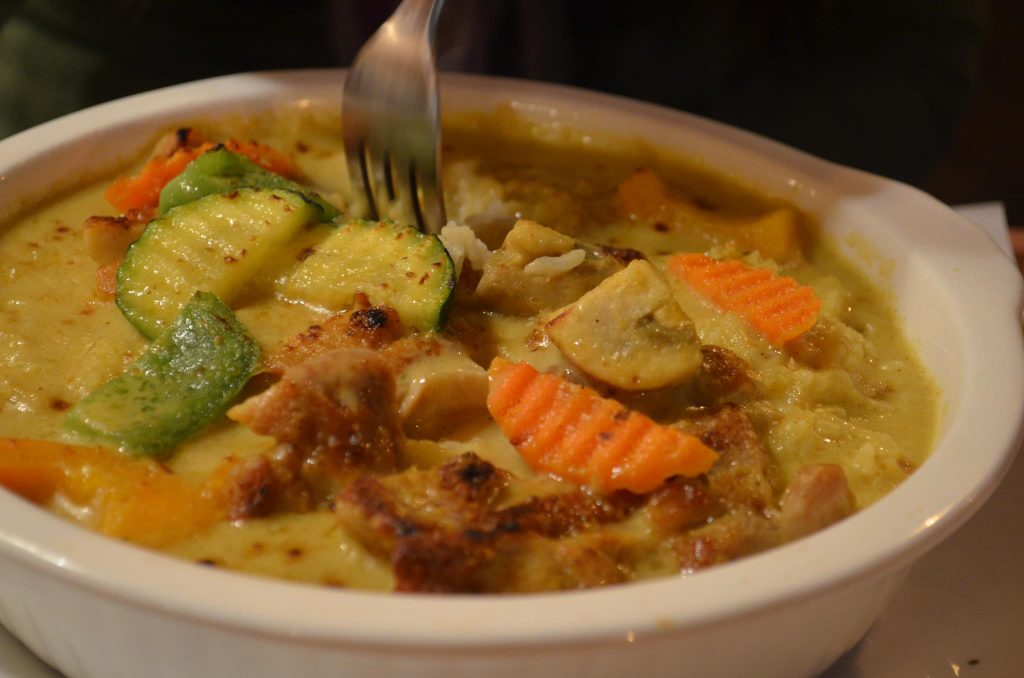 Portuguese Chicken from Eros Asian Eatery