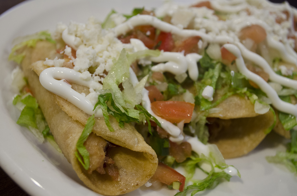 Flautas from El Patron Taqeatery