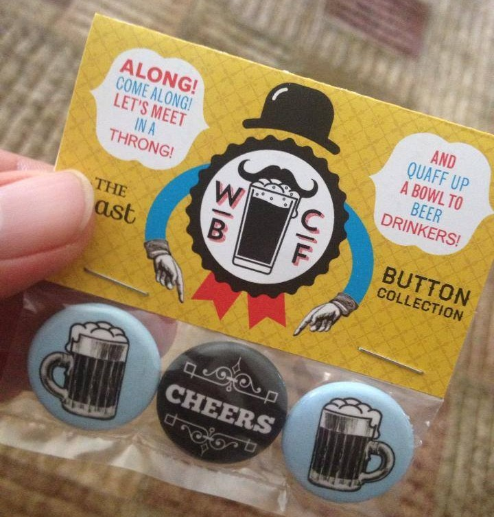 Windsor Craft Beer Festival buttons