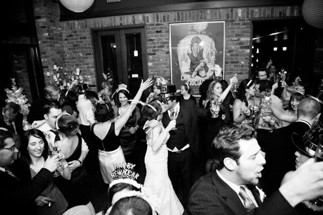 Jillian and Adriano's New Year's Eve wedding at La Zingara