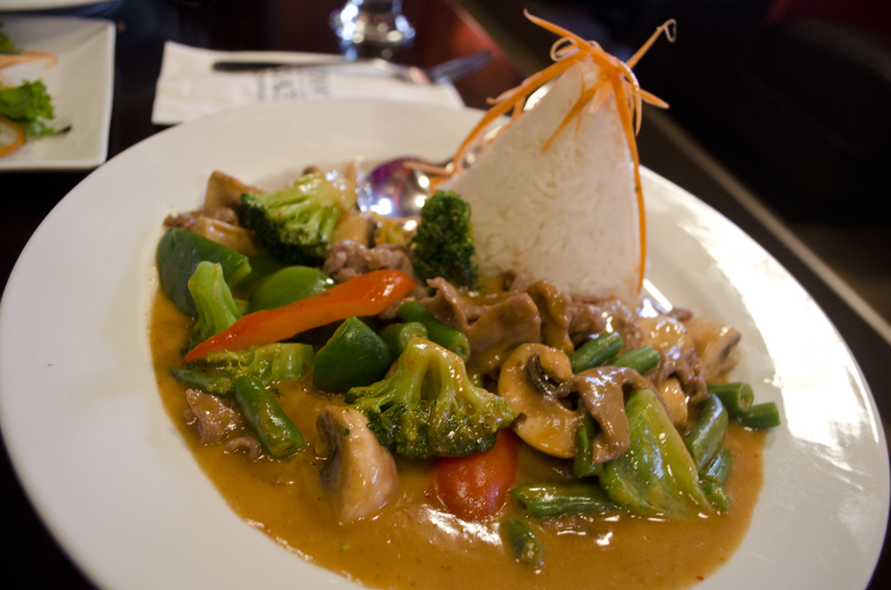 Peanut Sauce dish at Thai Palace