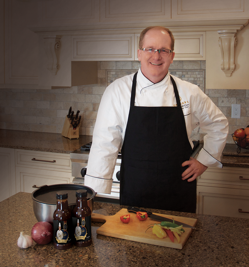 Chef Patrick of Caesars Windsor has created his own BBQ Sauce