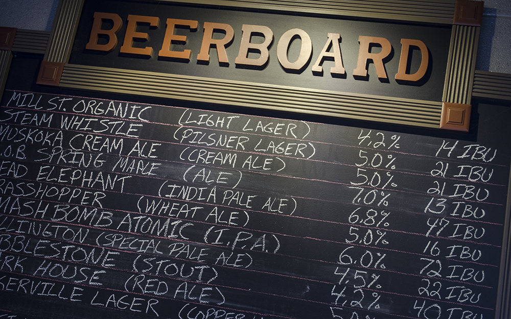 Billys Beer Board - 012
