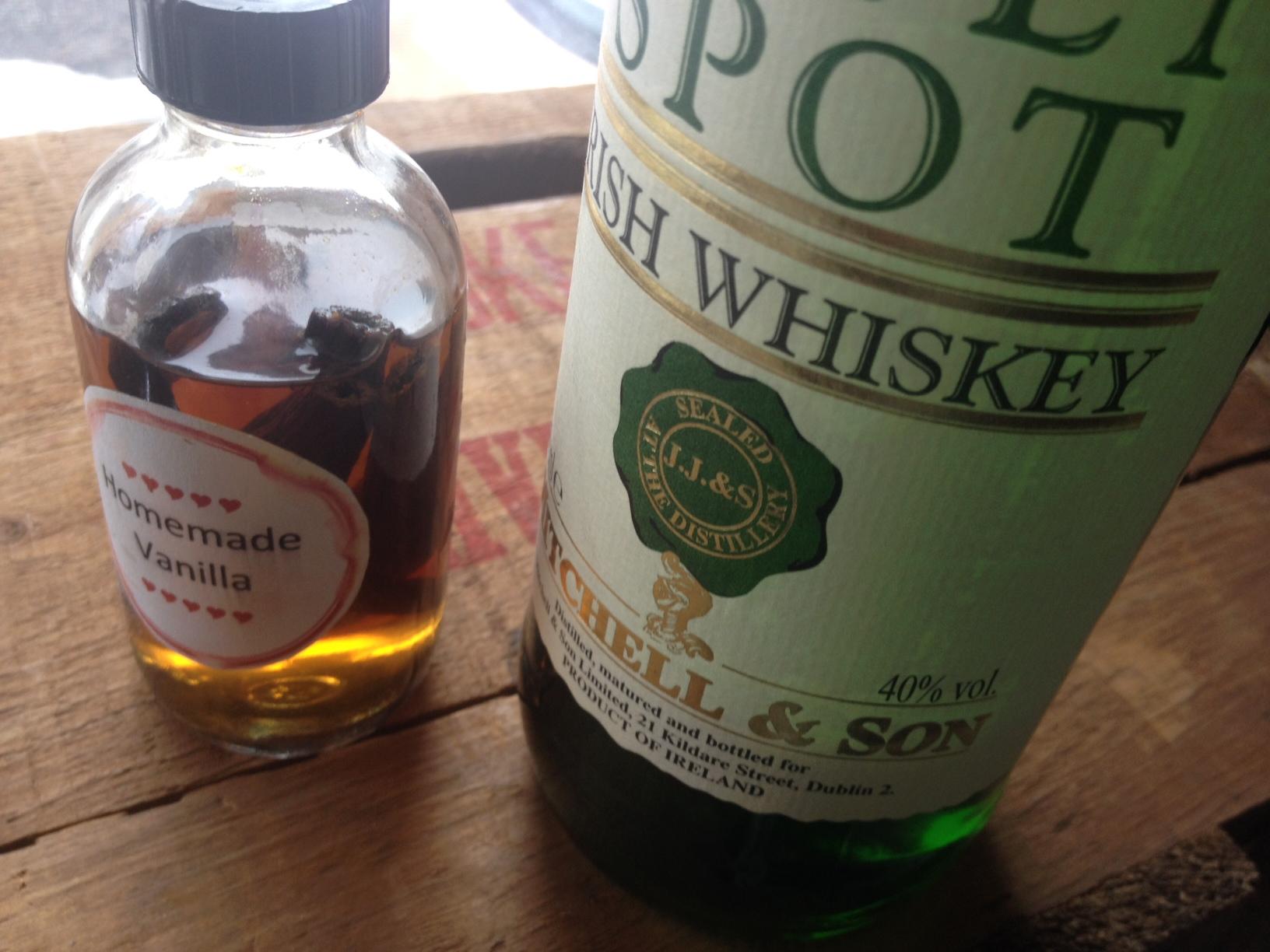 Irish Whiskey and Vanilla