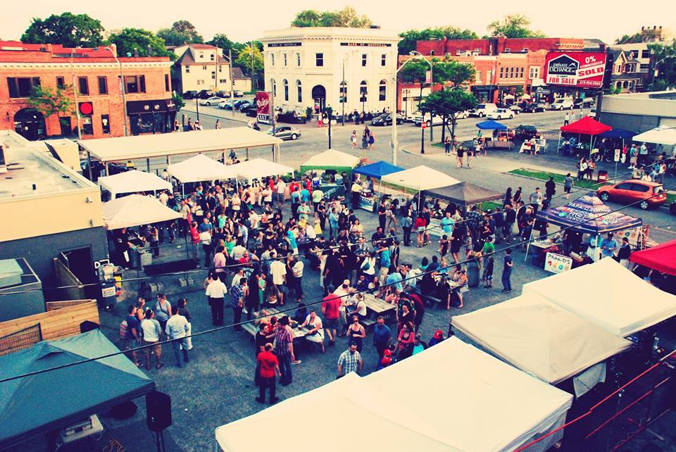 Photo from the Walkerville Night Market Facebook page