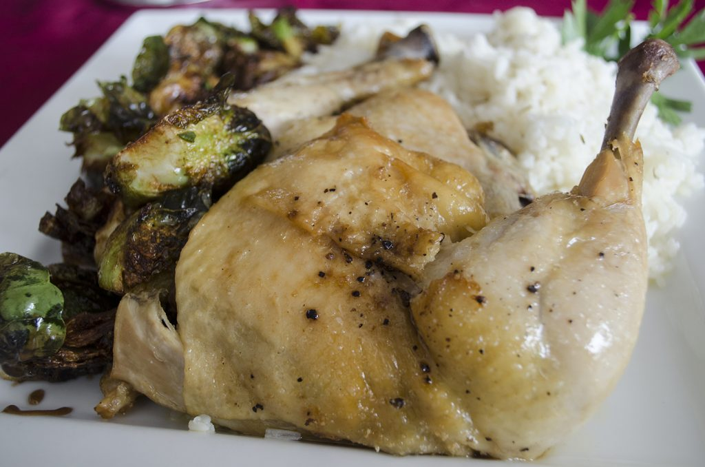 Chicken Confit from Honey Badger Bistro