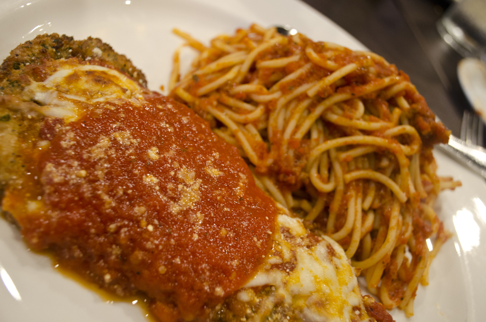 Chicken Parm from Enzo's