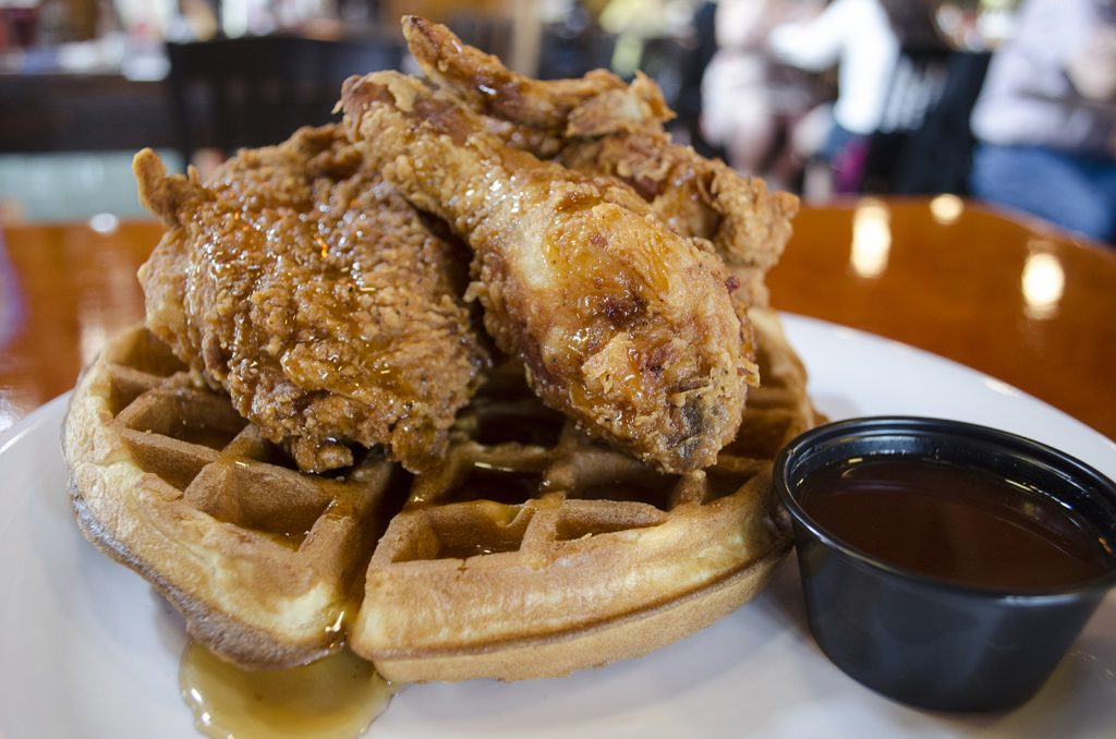Fried Chicken & Waffles from Smoke n Spice
