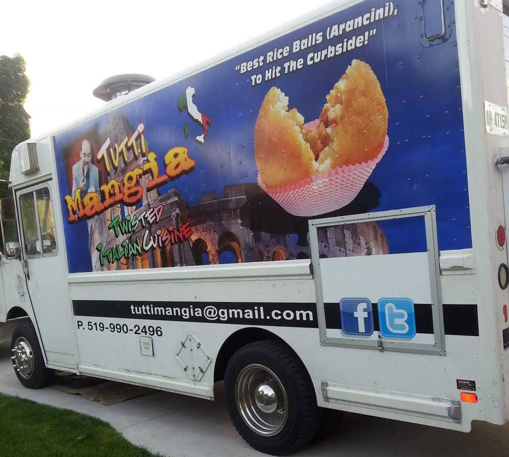 Tutti Mangia food truck is the latest to launch in Windsor