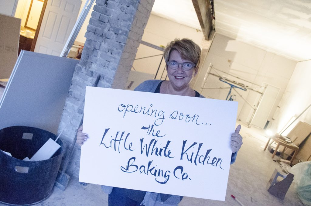 Michele Bowman of The Little White Kitchen Baking Co.