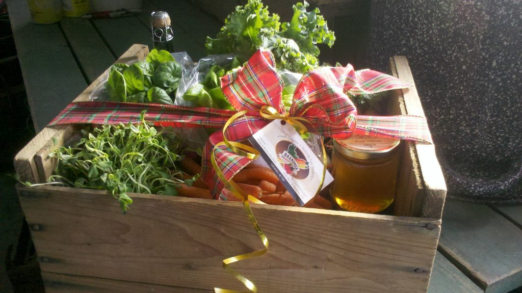 Give the gift of healthy food with a Brandner Farms Food Crate
