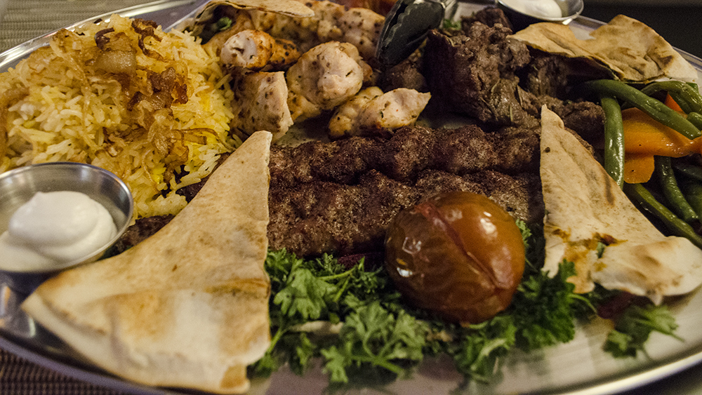 Enjoy a feast at Sarai Restaurant
