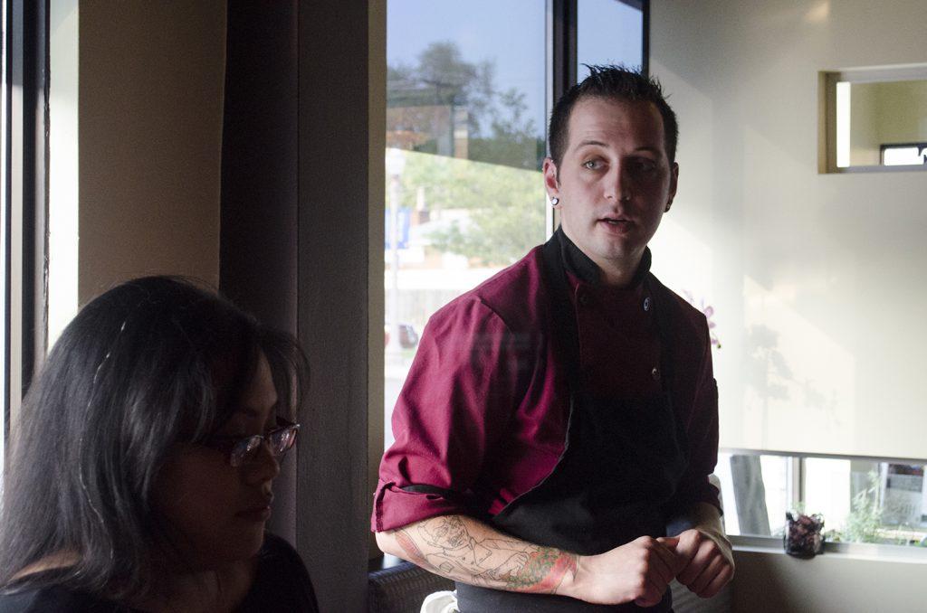 Chef Joshua makes a mean Quattro Formaggio
