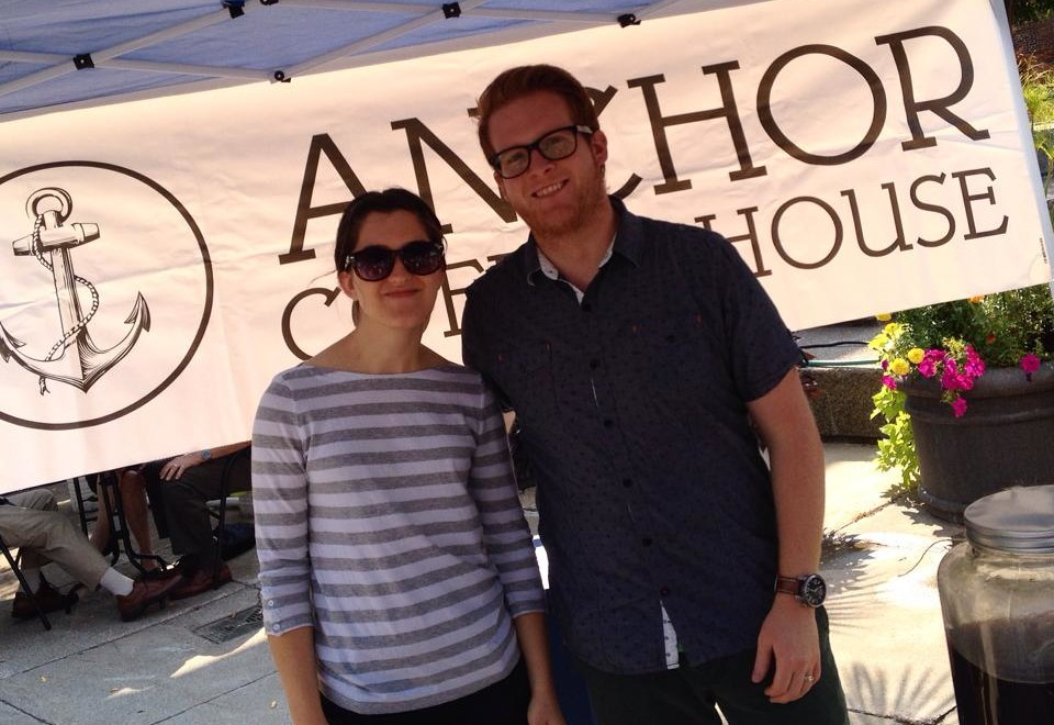Rachel and Kyle Bondy of Anchor House