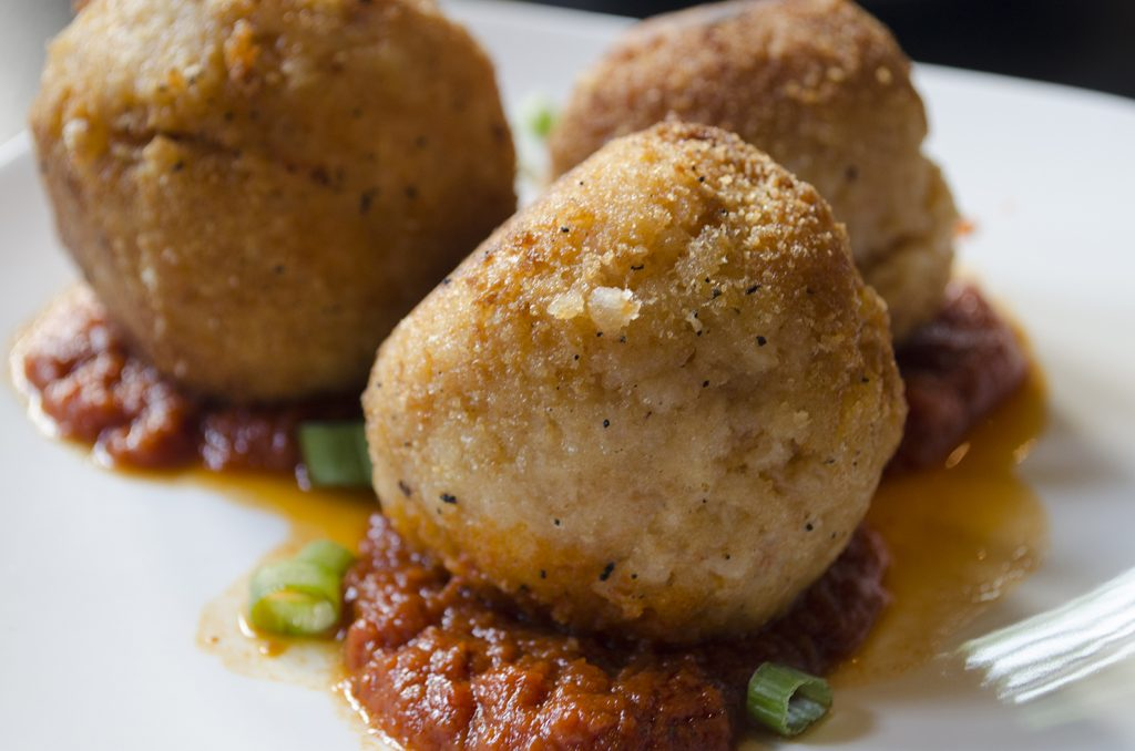 Fried Rice Balls from Rino's Kitchen