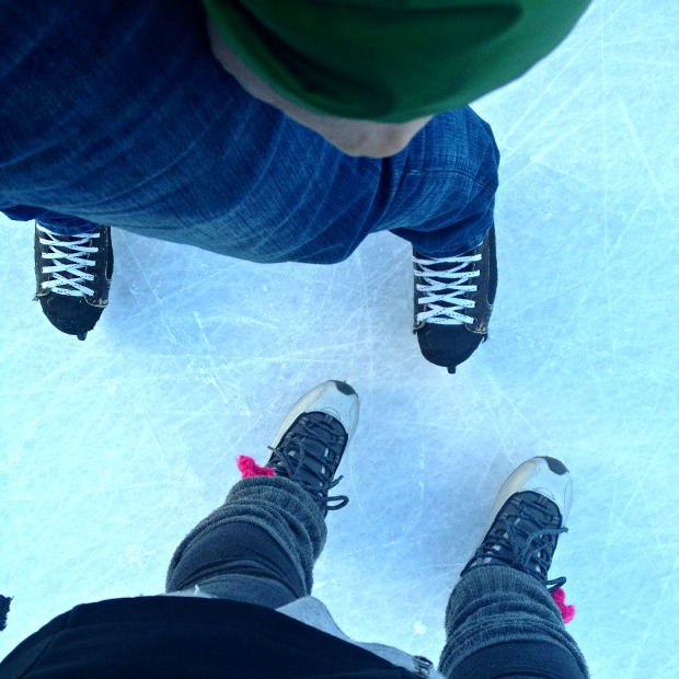 Skating at Charles Clark Square