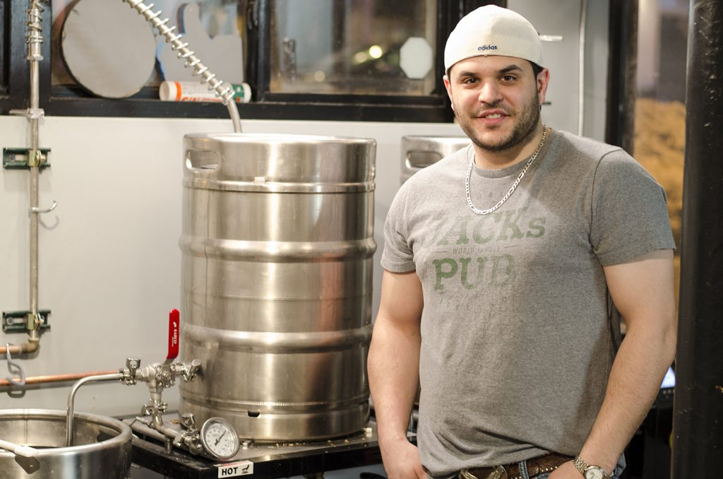 Steve Fabischek of Craft Heads Brewing Co.
