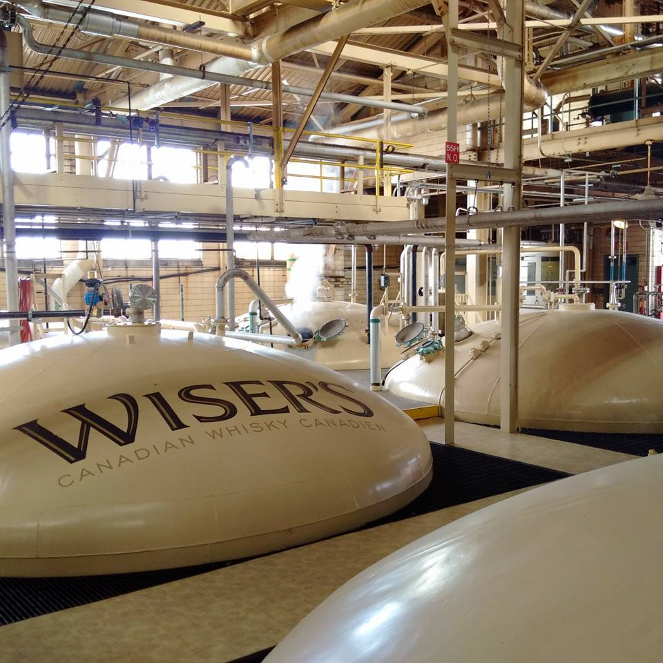 A look into the distillery of J.P. Wiser's in Windsor, Ontario.