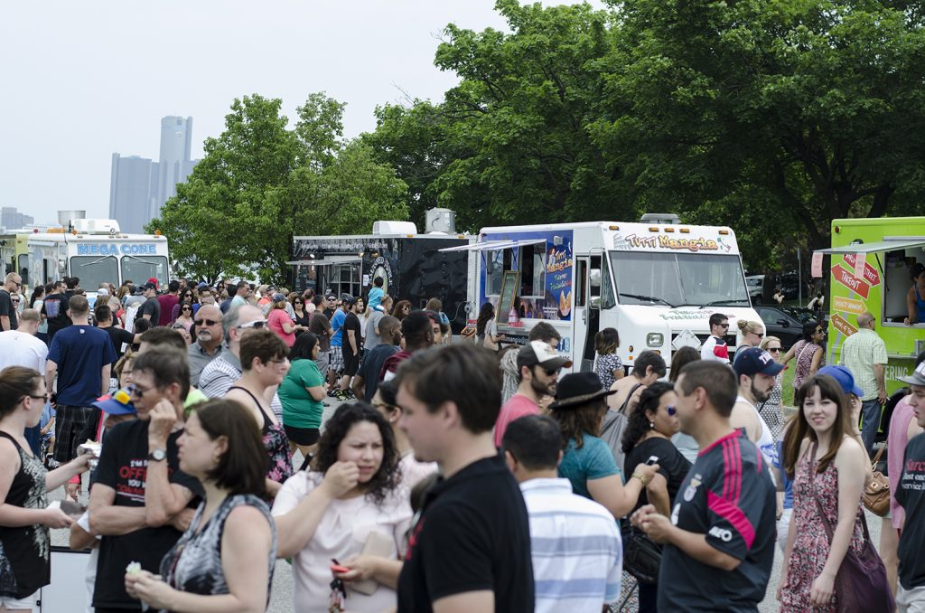 People love their food trucks!