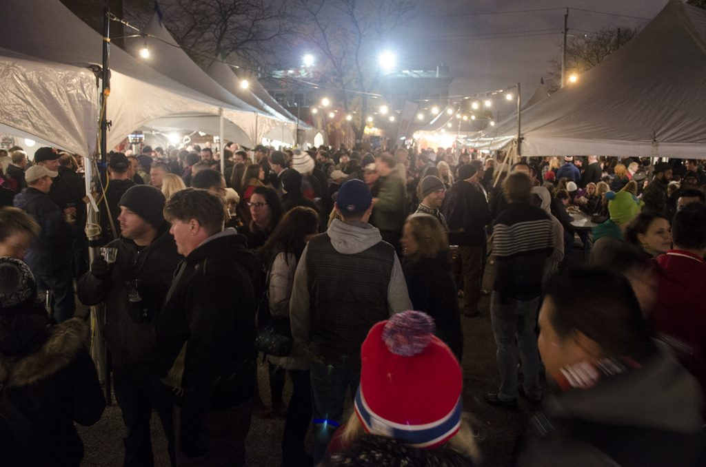 The crowds flocked to the Windsor Craft Beer Festival last year.