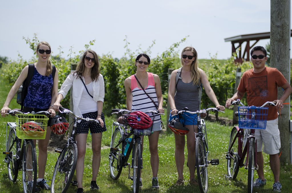 Enjoy a Wine Trail Ride Cycling Tour