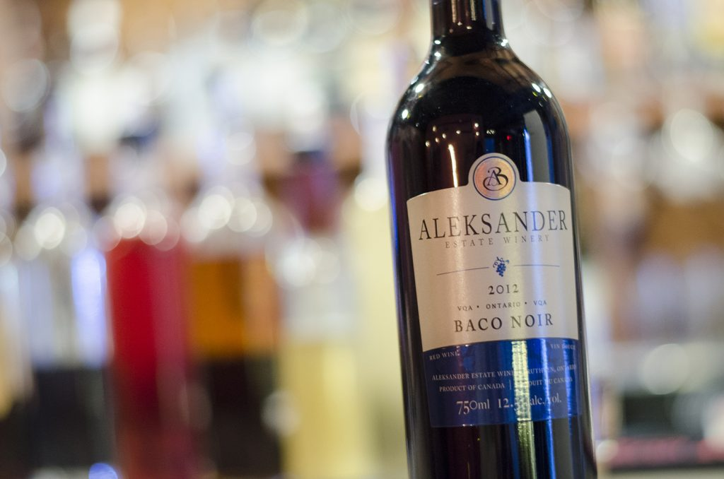 Baco Noir 2012 from Aleksander Estate Winery