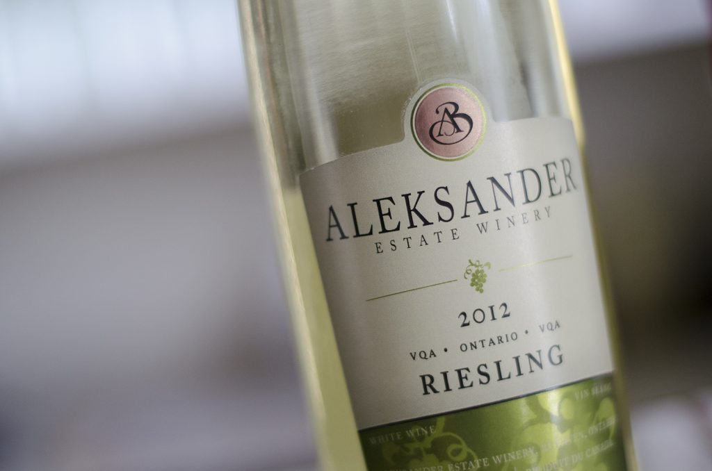 Riesling from Aleksander Estate Winery