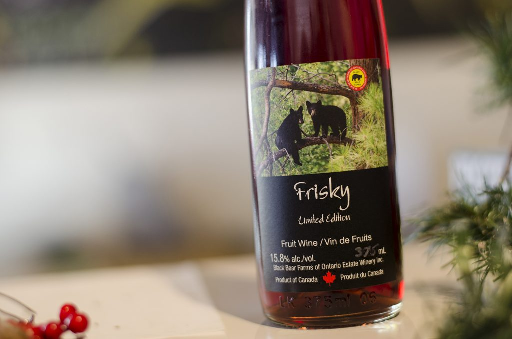 Frisky from Black Bear Farms & Estate Winery