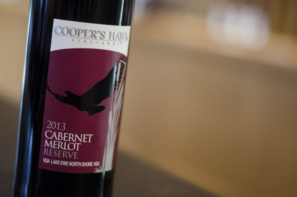 Cabernet Merlot Reserve from Cooper's Hawk Vineyards