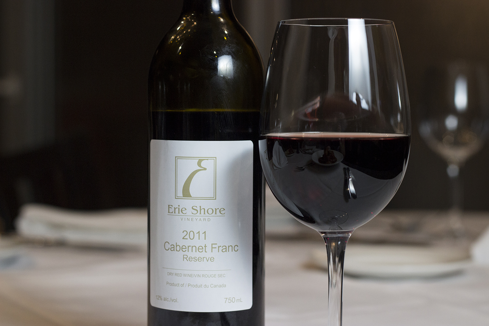 Cabernet Franc Reserve from Erie Shore Vineyard