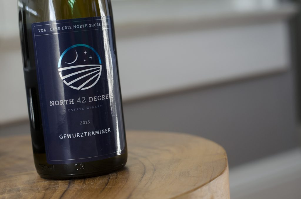 Gewurztraminer from North 42 Degrees Estate Winery