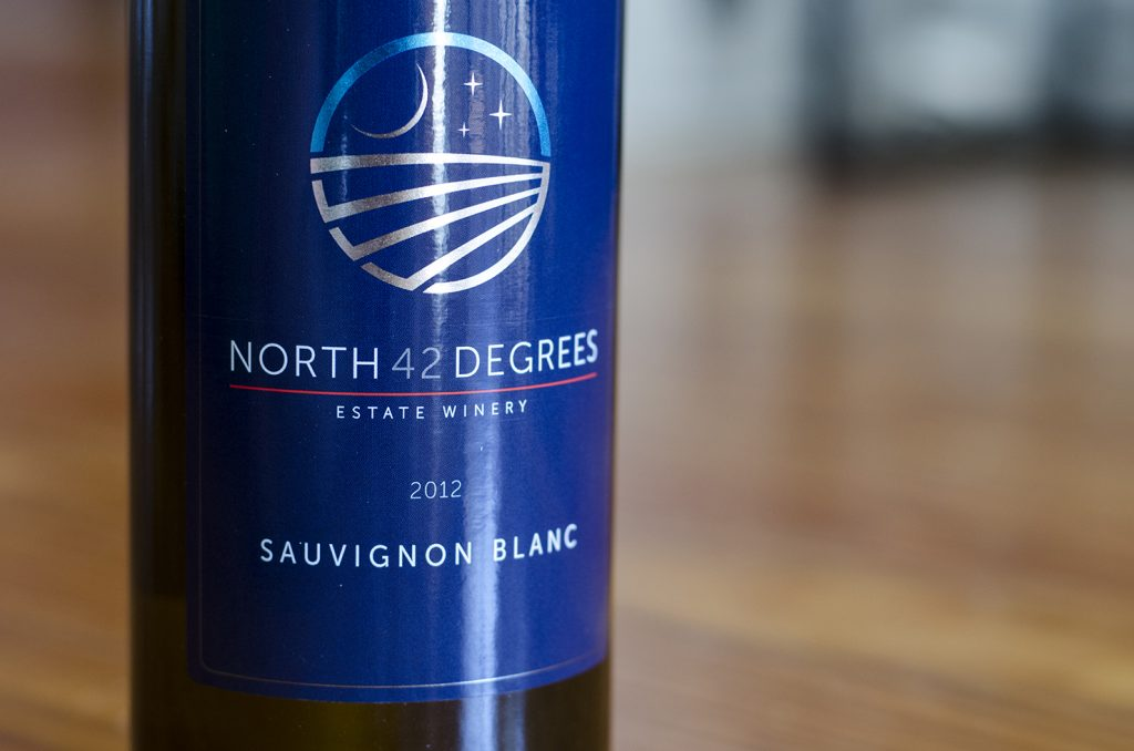 Sauvignon Blanc from North 42 Degrees Estate Winery