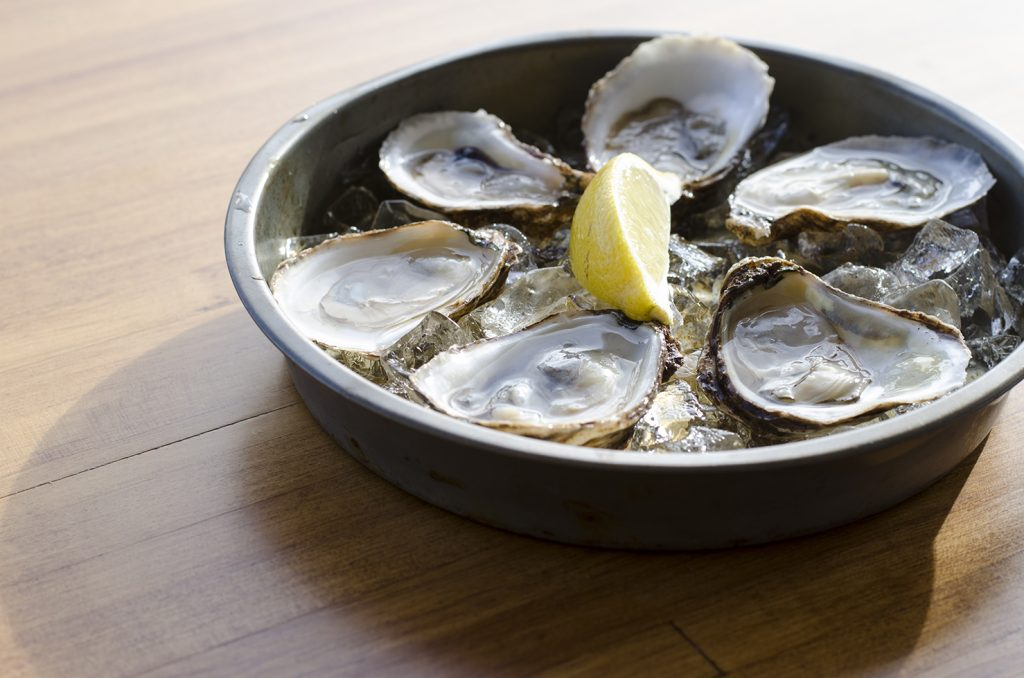 Get shucked!